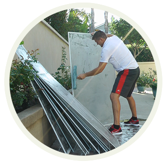 Window Screen Cleaning By Blue Coast Window Cleaning